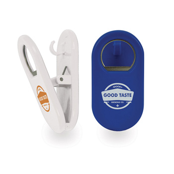 Multi-Use Magnetic Clip Bottle Opener